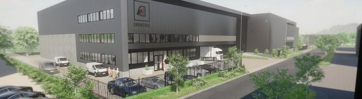 Nieuwbouw Zevenhuis Logistics voor Imming Logistics Fine Art